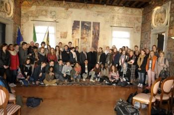 Progetto Comenius, gli studenti ricevuti nel comune di Treviso
