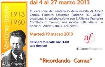 Ricordando Camus | Istituto Paritario Galilei Treviso