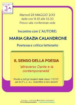conferenza Calandrone presso istituto Galilei Treviso