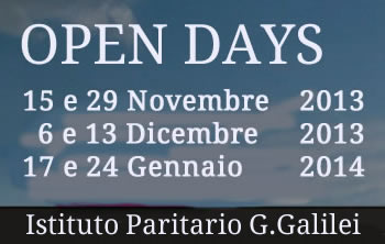 Open days Istituto Paritario Galilei Treviso