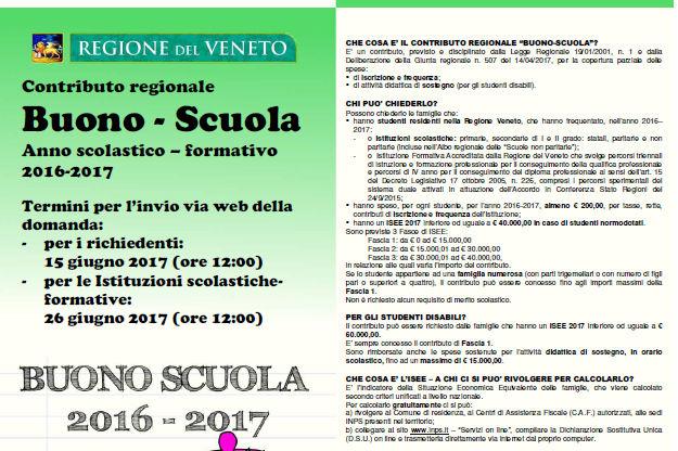 Buono Scuola 2016-2017